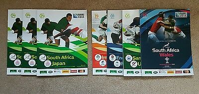 2015 rugby world cup programmes