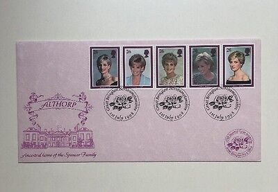 Princess Diana Gr.Brington Post Althorp House Birthday Cover Limit.Edition 1998