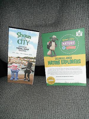 Shaun the Sheep Bristol Trail Map and Explorer Book Brand New Never Opened