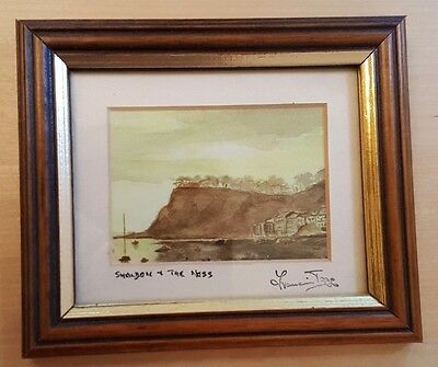 Shaldon Beach and The Ness small framed print