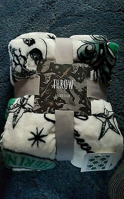 Harry Potter Slytherin Throw