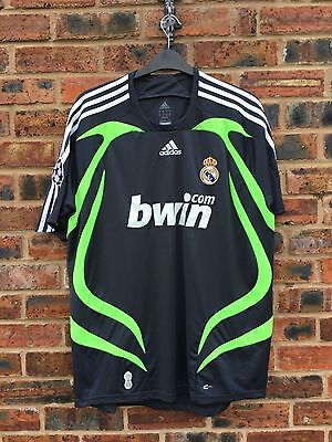 Real Madrid Away Shirt 07/08 XL champions league Rare