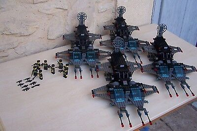 lego space , police  lot customs x4 ( -- 6980 -- )  . superbes
