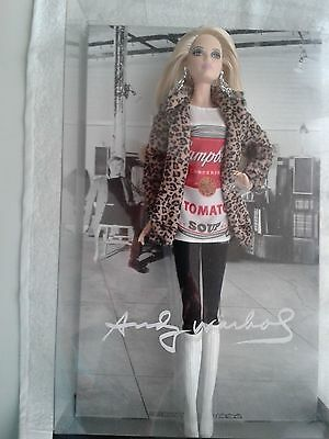 Rare Barbie doll by Andy Warhol,  brand new