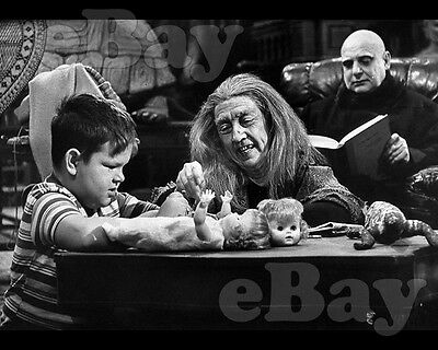 Rare! ADDAMS FAMILY 8 X 10 TV Photo JACKIE COOGAN Blossom Rock KEN WEATHERWAX