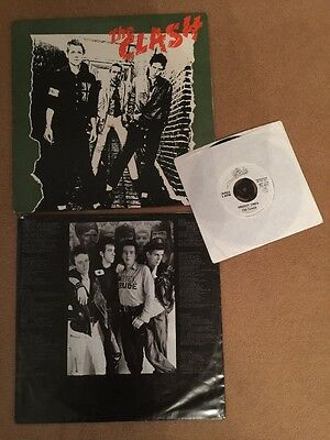 The Clash - The Clash With Free 7in Single
