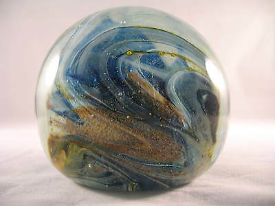 Early Isle of Wight Studio Glass Paperweight 1970's
