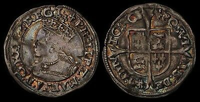 GREAT BRITAIN 1554-58 Philip & Mary Groat