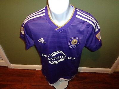 Adidas Orlando City SC   MLS Soccer Jersey SIZE ADULT SMALL