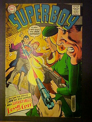 Superboy #149 July-1968 Bonnie & Clyde; Neal Adams-Cover Fn