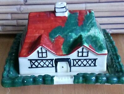 Vintage L & SONS LTD HANDLEY Cheese / Butter dish