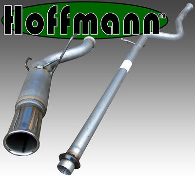 Saxo VTS Hoffmann Race Exhaust System - Single 3""