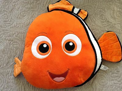 Disney Store - Finding Nemo / Finding Dory 'NEMO CUSHION' Excellent Condition