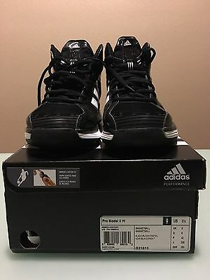 Adidas Womens Black Pro Model 0 W Sz    9.5.