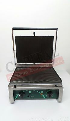 Commercial Single Panini Grill / Toaster