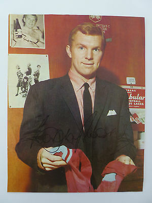 Bobby Moore Hand Signed Autograph West Ham Utd & England World Cup 1966
