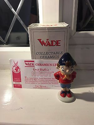 Boxed Wade Noddy Style Two with COA