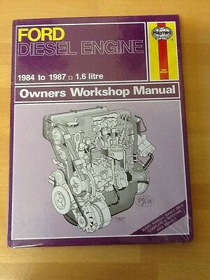Ford Diesel Engine 1984-87 Haynes Workshop Manual