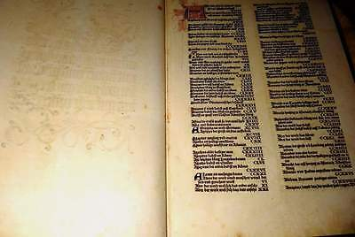 Very interesting old book , possibly copy of an incunabula, illustrated