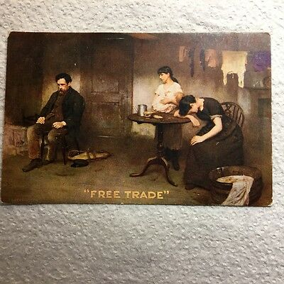 Free Trade, Political Card, Artist T B Kennington
