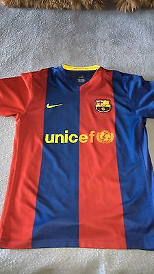 Maillot Barcelone 2007/2008 Messi Taille L