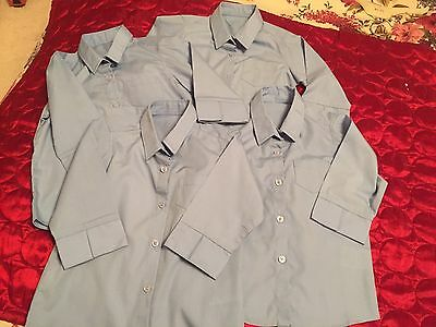 For Girls School Shirts 3/4 Sleeve By Matalan