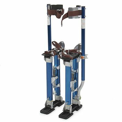 "Pentagon Tools 18"" - 30""  Drywall Stilts Blue"