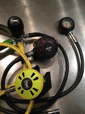 US Divers Scuba Regulator complete set stage one two and octopus diving