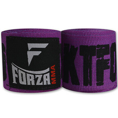 "Forza 180"" Mexican Style Boxing Handwraps - KTFO Purple"