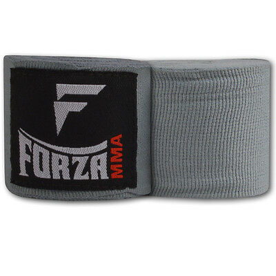 "Forza 180"" Mexican Style Boxing Handwraps - Gray"