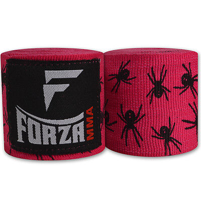 "Forza 180"" Mexican Style Boxing Handwraps - Spider Hot Pink"