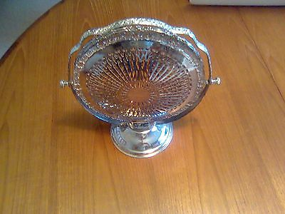 Vintage 3 Tier Silver Plated Folding Cake Stand 1979