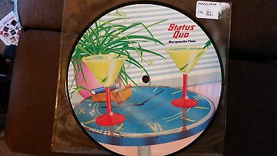 "Status Quo - Marguerita Time Rare Uk 7"" Picture Disc"
