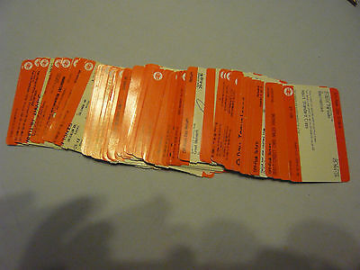 Train tickets ( used)