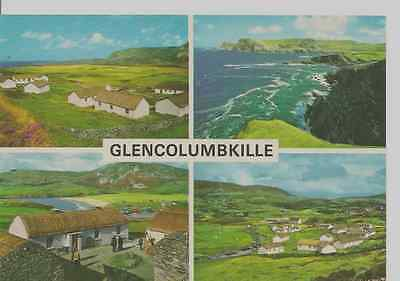 Old Postcard: Glencolumbkille, Co. Donegal, Ireland.