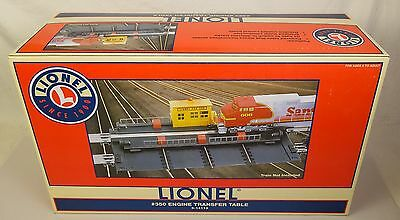 Lionel #6-14113 Powered #350 Engine Transfer Table-Mib!