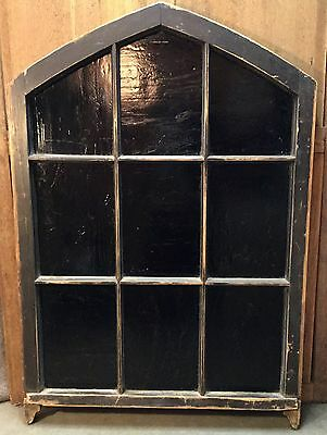 Antique Arched Stain Glass Window Gothic Architectural