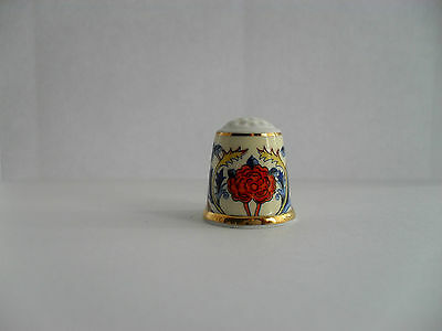 China Thimble - The Museum Collection - Rose Chintz