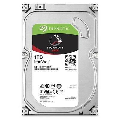 Disque Dur Seagate IronWolf 1 To (1000 Go) S-ATA 3 -  (ST1000VN002)