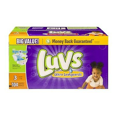 Luvs Ultra Leakguards Diapers Size 3(Choose Diaper Count)