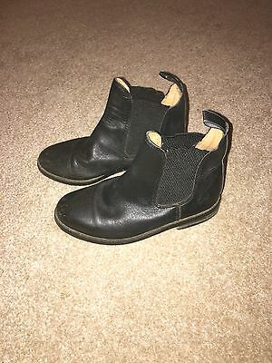 black jodphur boots Size 1 Made By Taurus