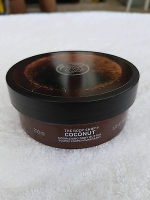 The Bodyshop Coconut Body Butter 200 ml and Lip Butter 10ml