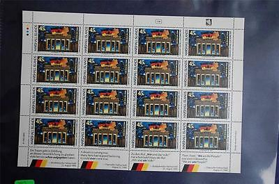 Marshall Islands Germany United 45c Stamps Full Sheet (16) Sc#382 Mint NH