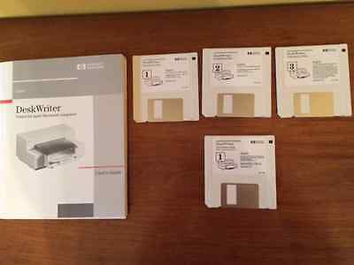 HP Deskwriter Manual and Installation Disks