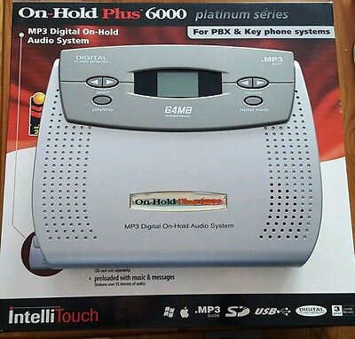 On-Hold Plus OHP 6000 MP3 Digital OnHold Audio Player for PBX & Key Phone System