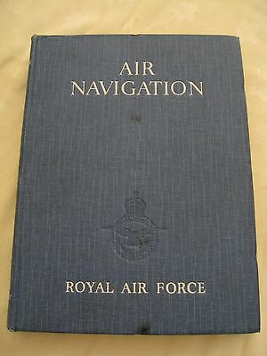 WWII RAF Air Navigation Book 1944 Ministry Issue with Charts Vol 1