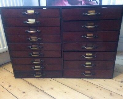 Vintage Shop Display drawers / Antique / Apothecary