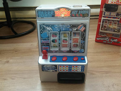 Triple Thunder Super Slot (stop/pachislot) toy game machine (slightly used)