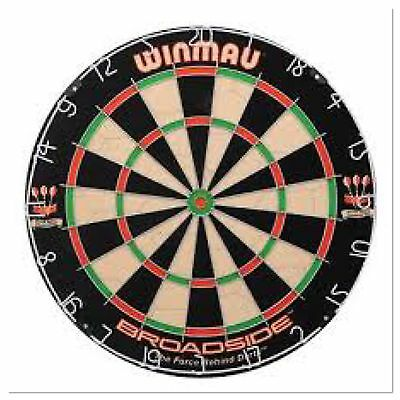 Winmau Broadside Bristle Dartboard World Darts Fed Spec - High Quality BNIB