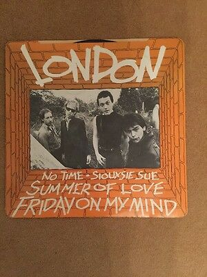 London - Summer Of Love/Friday On My Mind 12 In Single